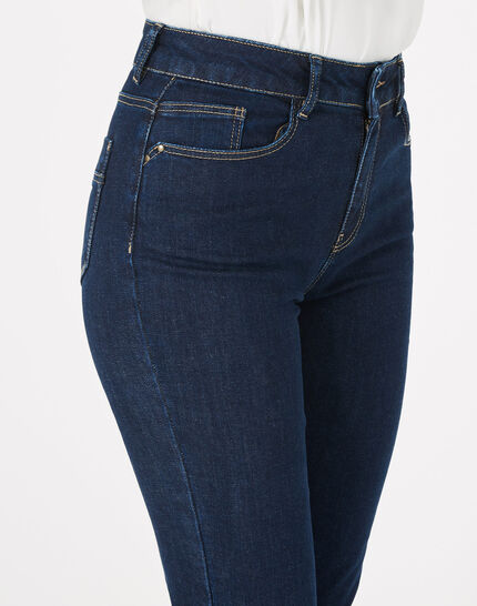 Oliver raw-cut 7/8 length jeans with studs (3) - 1-2-3