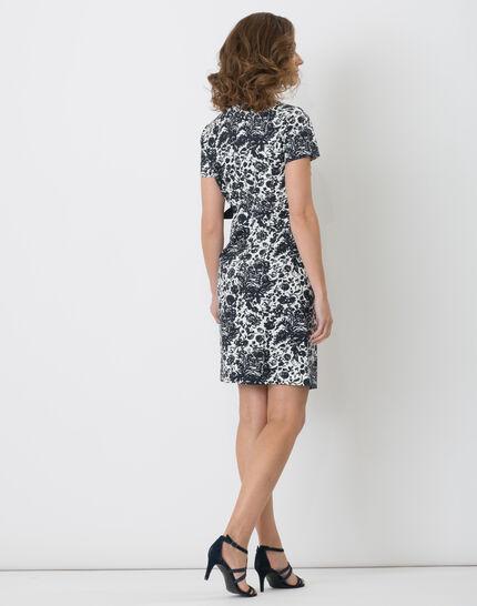 Floriane blue printed dress (3) - 1-2-3