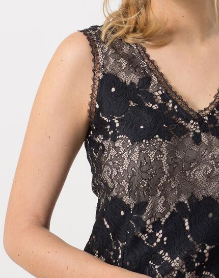 Francesca black lace dress (5) - 1-2-3