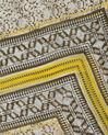 Saskia olive floral print scarf (3) - 1-2-3