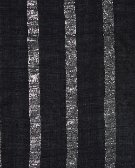 Erina metallic black stole (1) - 1-2-3