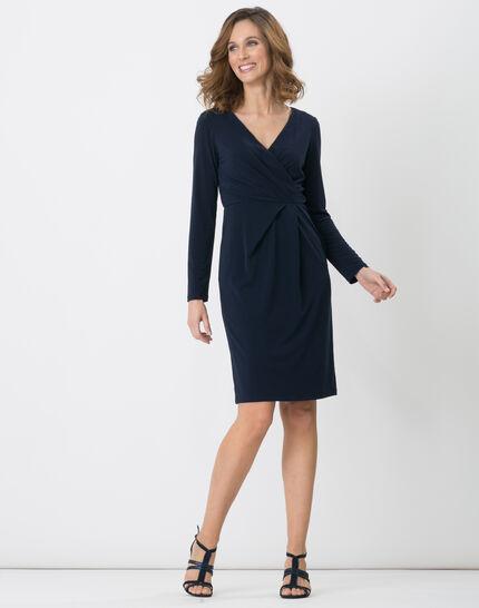 Bermude navy blue dress (4) - 1-2-3