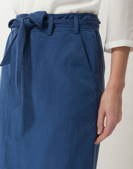 Dolce lyocell blue skirt (5) - 1-2-3