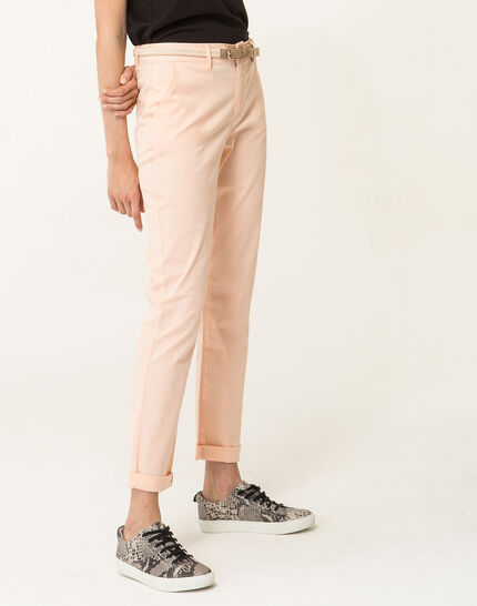 Francis apricot 7/8 length trousers (2) - 1-2-3