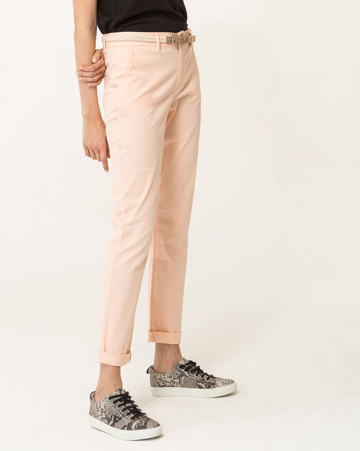 Francis apricot 7/8 length trousers (1) - 1-2-3