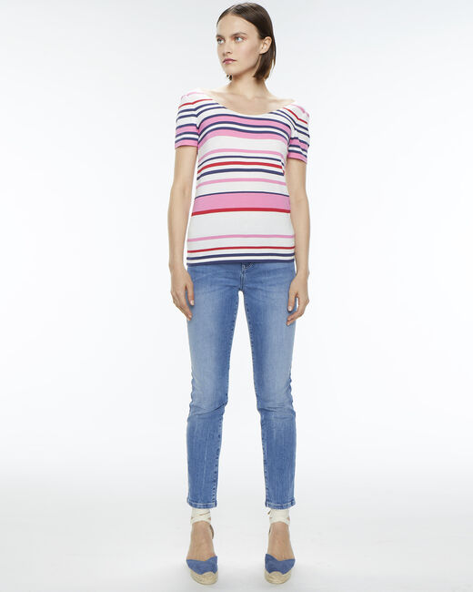 Tee-shirt rayé Noemie (1) - 1-2-3