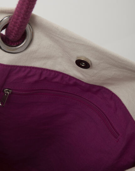 Pavel embroidered fuchsia bag (4) - 1-2-3