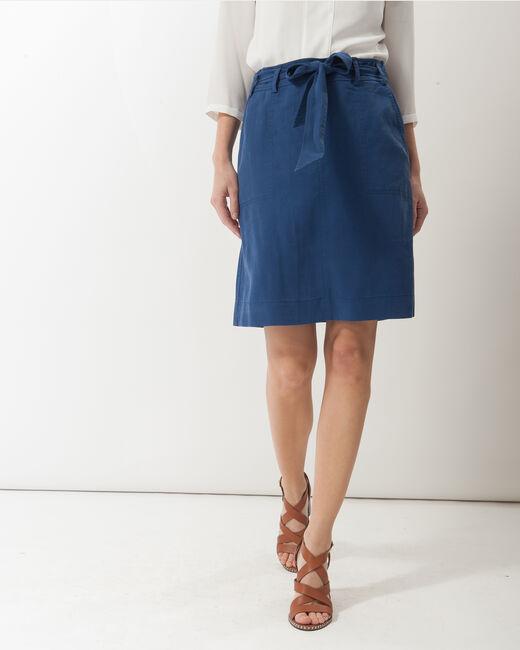 Dolce lyocell blue skirt (2) - 1-2-3