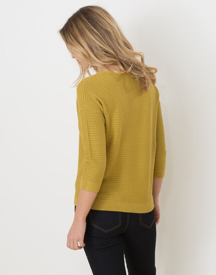 Hélice pistachio green sweater with long sleeves (4) - 1-2-3