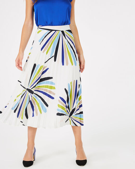 Florbella long pleated skirt (1) - 1-2-3