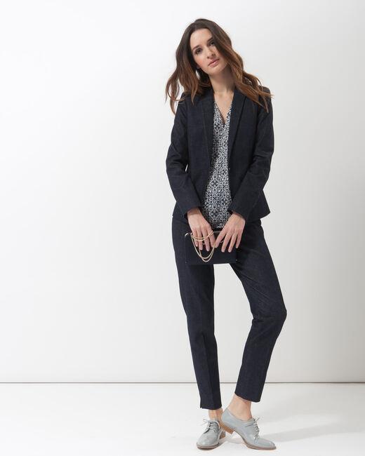 Aurore denim tailored jacket (1) - 1-2-3