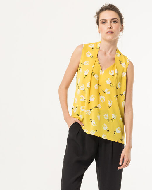 Euphorie yellow printed top (1) - 1-2-3