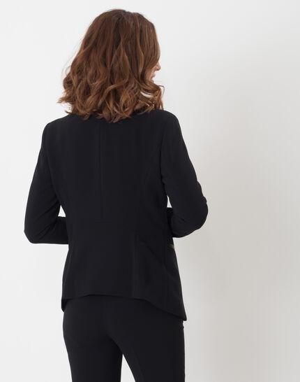 Maite black jacket with belt (4) - 1-2-3