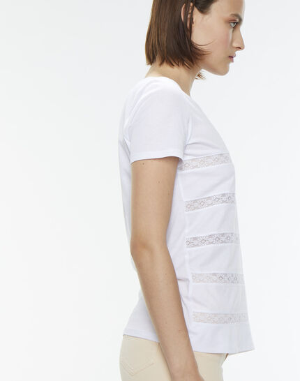 Nori striped white T-shirt (3) - 1-2-3
