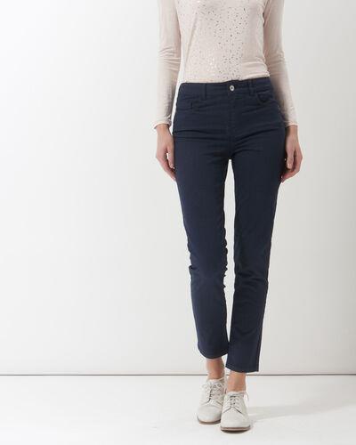 Pantalon bleu imprimé Oliver (2) - 1-2-3