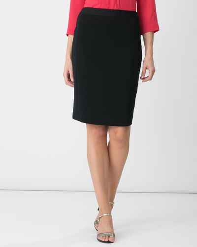 Tabloid black tailored skirt (2) - 1-2-3