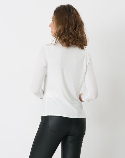 Nuit ecru lace T-shirt (3) - 1-2-3