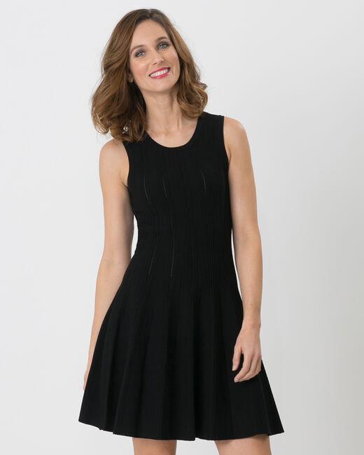 Bergame black knitted dress (2) - 1-2-3