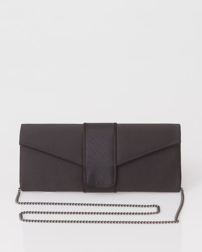 Tess black clutch bag (1) - 1-2-3