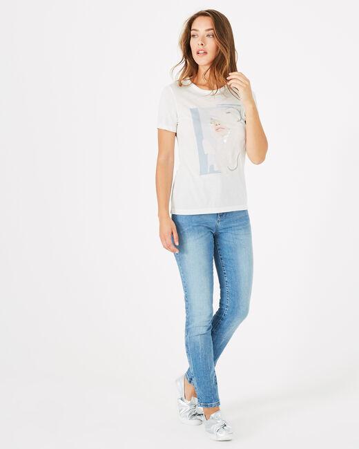 Bouche printed modal T-shirt (1) - 1-2-3