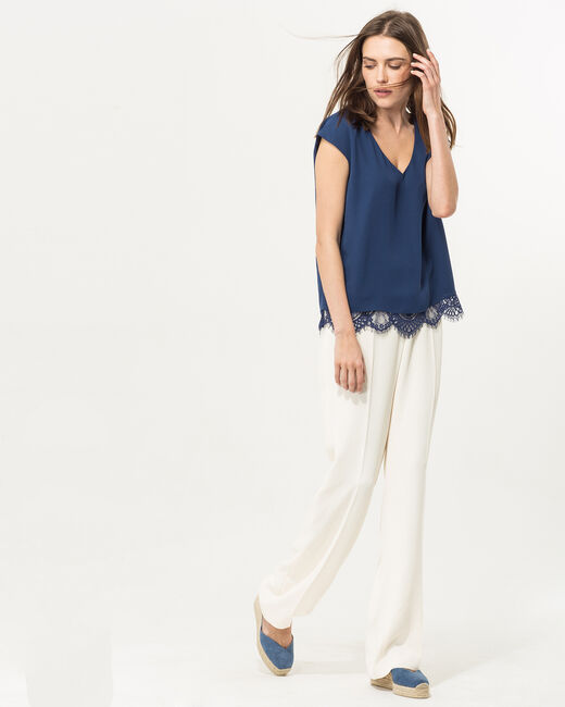 Twist blue top (2) - 1-2-3