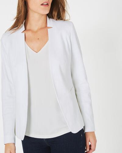 Bea white piqué jacket (1) - 1-2-3