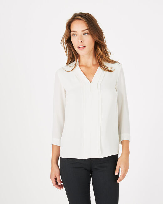 Elea ecru shirt (1) - 1-2-3