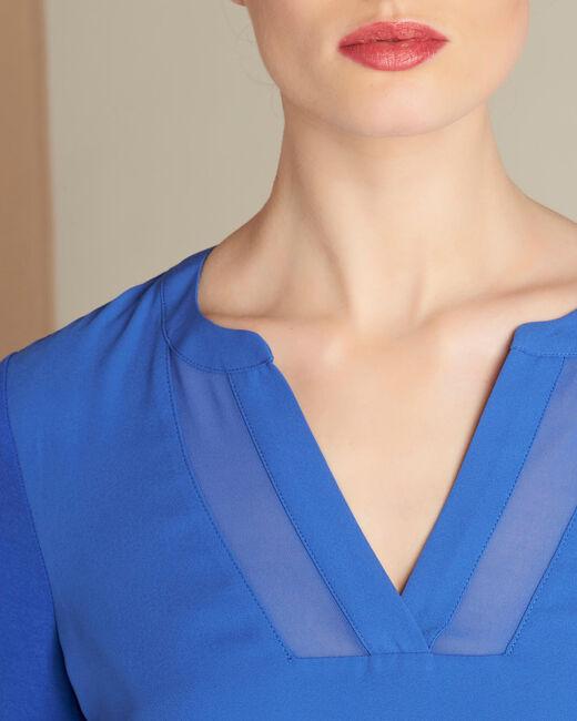 Tee-shirt bleu roi Bianca (1) - 1-2-3