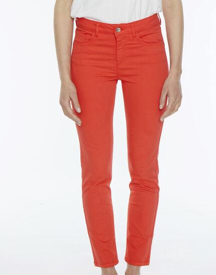 Oliver orange cropped trousers PhotoZ | 1-2-3