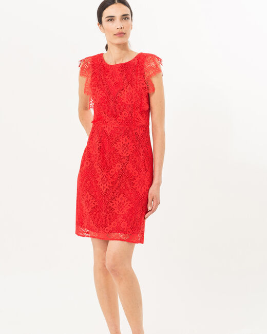 Fuego red lace dress (1) - 1-2-3