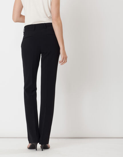 Super straight-cut black trousers (4) - 1-2-3