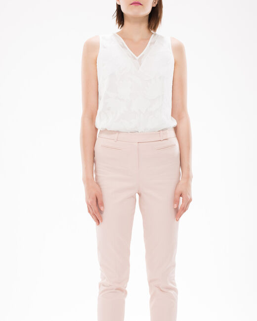 Rubis pale pink trousers  (2) - 1-2-3