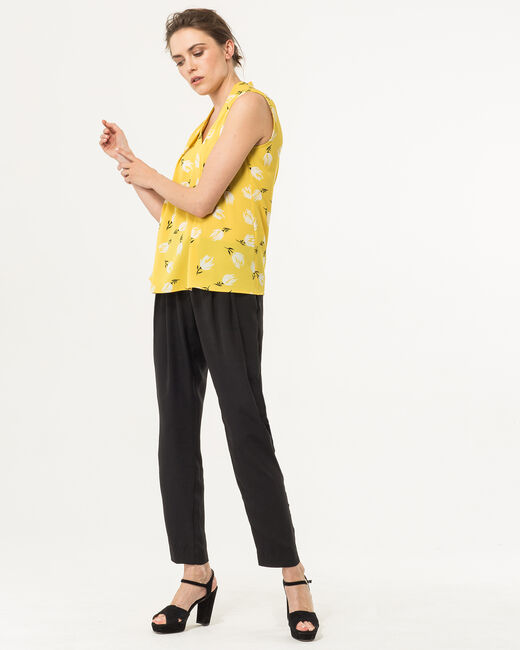 Euphorie yellow printed top (2) - 1-2-3