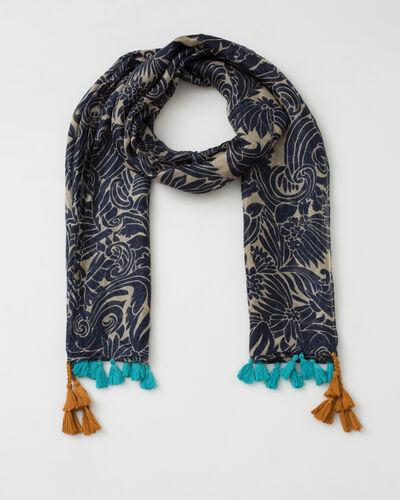 Scarlett silk printed scarf (1) - 1-2-3