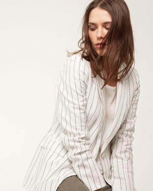 Astuce white linen jacket (1) - 1-2-3