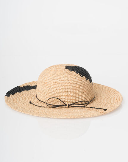 Johnny broad-brimmed straw hat (2) - 1-2-3