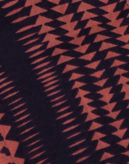 Foulard corail imprimé en coton Salvatore (3) - 1-2-3