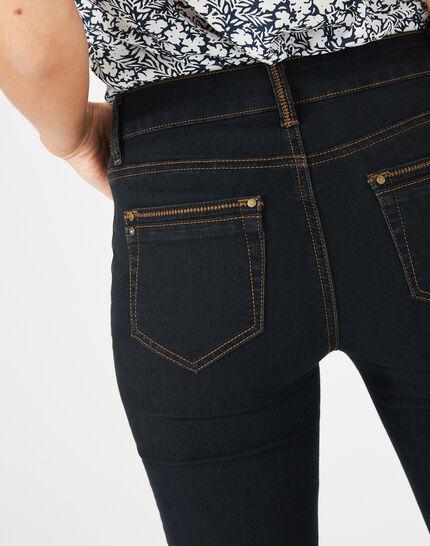 Pia 7/8th length black jeans (4) - 1-2-3
