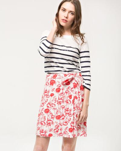 Deese floral printed skirt (1) - 1-2-3