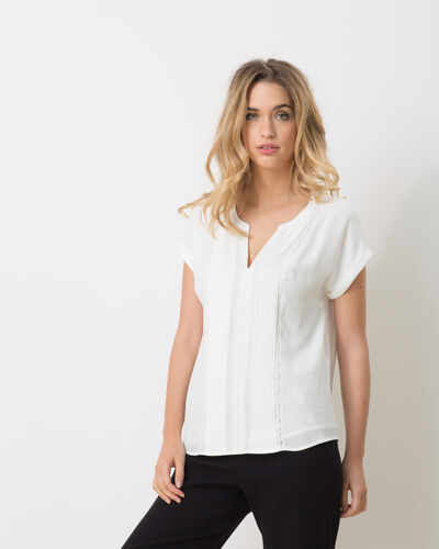 Elsa white shirt with lace (2) - 1-2-3