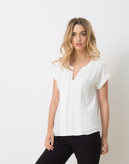 Elsa white shirt with lace PhotoZ   1-2-3