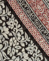 Silly red printed scarf in cotton (3) - 1-2-3