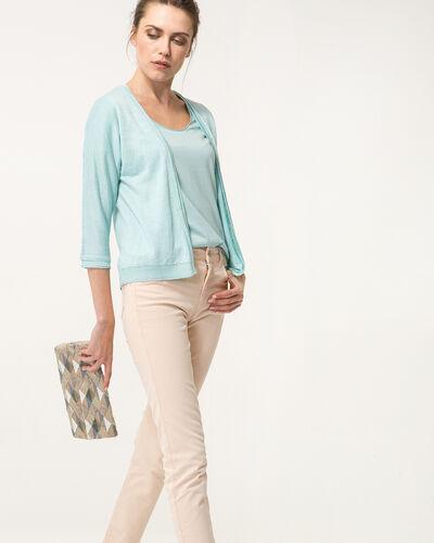 Tee-shirt bleu ciel Noon (2) - 1-2-3