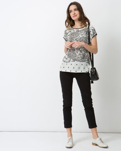 Tee-shirt imprimé Nef (2) - 1-2-3