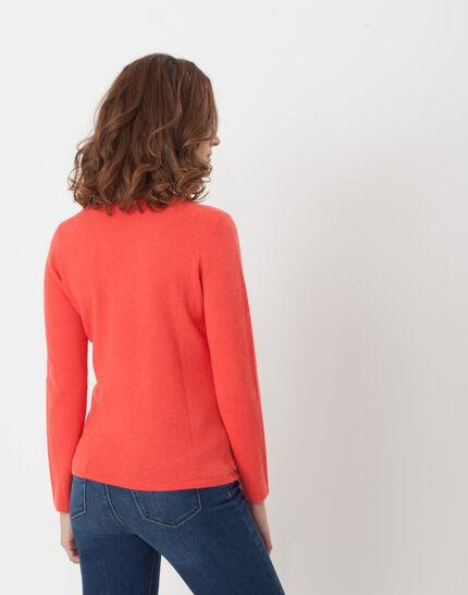Heart orangey cashmere sweater (4) - 1-2-3
