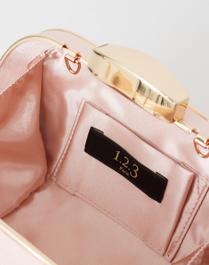 Palmyre powder pink clutch bag (4) - 1-2-3