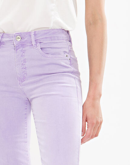 Oliver lilac cropped trousers (5) - 1-2-3