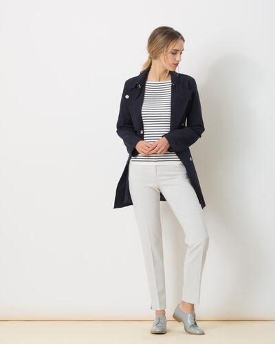 Pantalon de tailleur gris pâle Lara (2) - 1-2-3