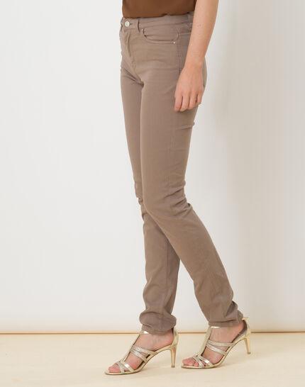 William taupe satin trousers (3) - 1-2-3