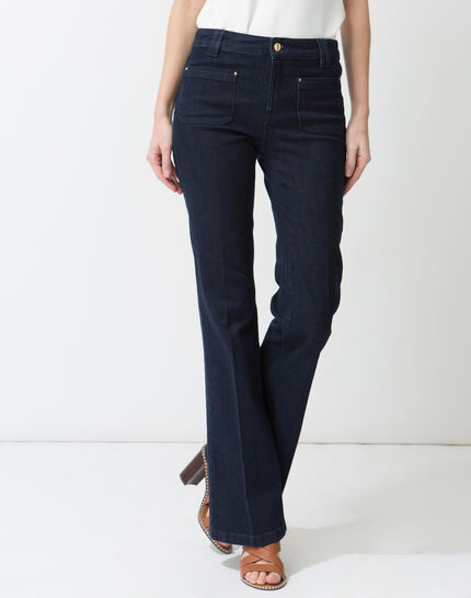 Untreated wide-leg jeans PhotoZ | 1-2-3